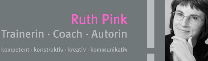 Ruth Pink | Trainerin - Coach - Autorin